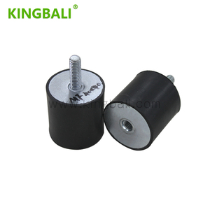Damping Industrial Rubber Shockproof Rubber Damping Feet With Screws Rubber Shock Absorbers