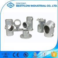 Strict quality testing good reputation cast aluminum pipe clamp fitting