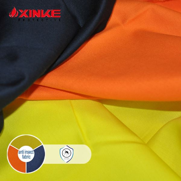 non-toxic anti mosquito repellent insect repellent fabric for industry workwear