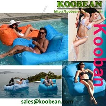 Swimming pool float foam beanbag bed on water,awesome pool floats oversized bean bag chairs for pools