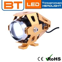 2015 Led Motorcycle Projector / Motorcycle Led Projector Headlights 10W