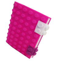 A6 Silicone Journal With Book Wholesale Pink Office Supplies Notebook
