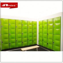 High quality vintage color mini swimming pool steel locker cabinet electric storage locker for bathroom/gym/supermarket