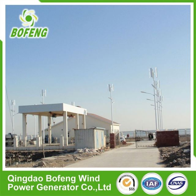 Competitive Price All Kinds of 500w small vertical wind turbine street lights for sale