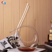 special design high quality lead free crystal wine /whiskey decanter