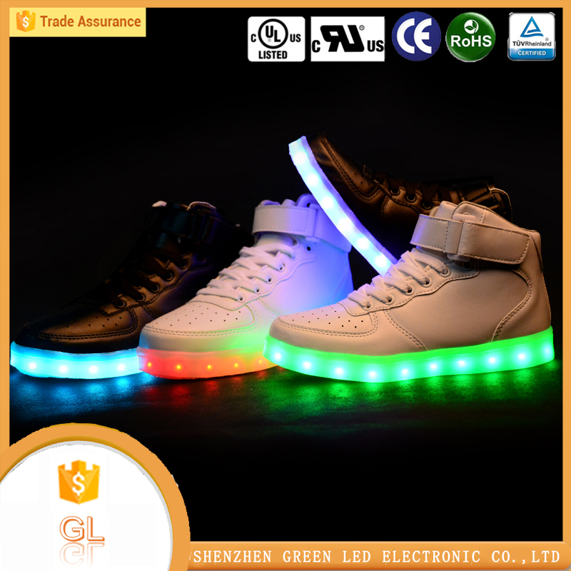 Factory direct sales high quality light up wholesale vietnam shoes