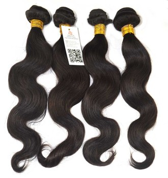 Queen Rose Brazilian Hair Extensions Body Wave 100% Human Virgin Hair Wholesale 5A Quality