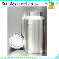 cheap stainless steel milk and wine used containers for sale 50L
