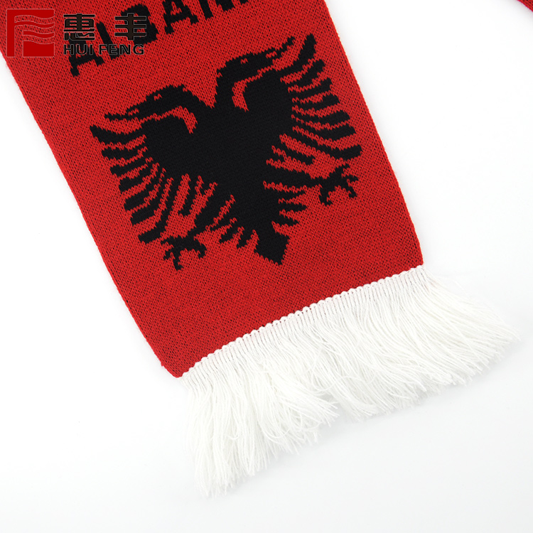 Hot sales soccer fan scarf ,scarf football for world cups