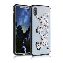 Cartoon Pattern Back Case for iPhone X Case Cover