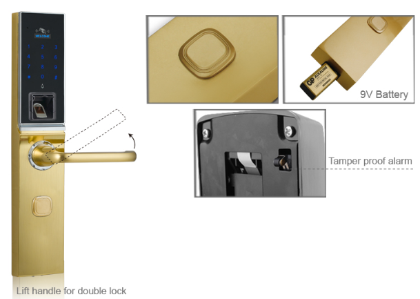 Card digital keyapd fingerprint sensor door lock.png