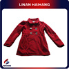 High quality hot sale Red winter 7 to 10 years child jackets manufacturer