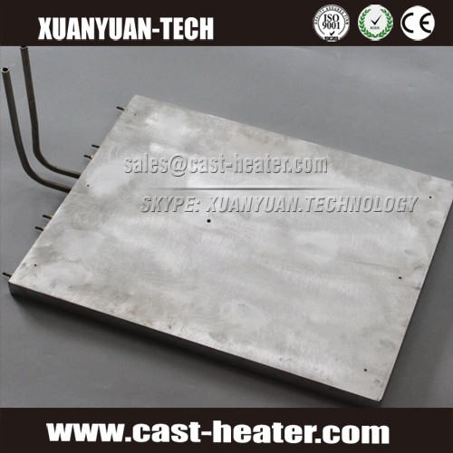 cast-in aluminum extruder heater electric heating element