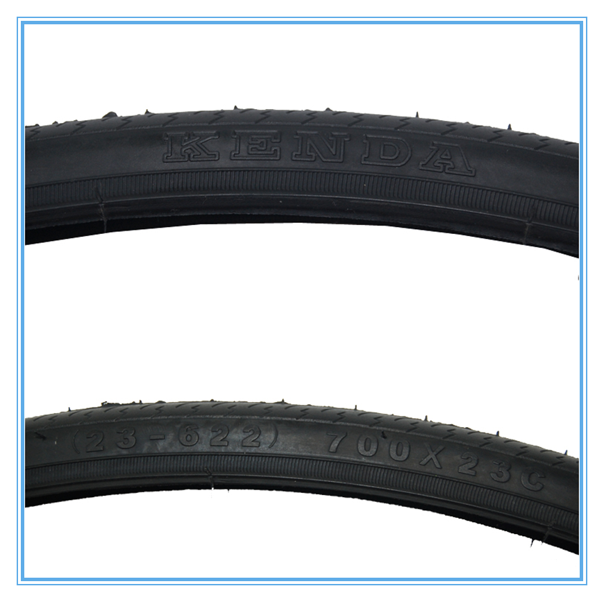 2016 Made in China 700*23C 25c thick slick Black Bicycle Tires / TOP Quality Bicycle parts bike tires/ Best racing bike tires