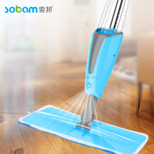 Microfiber spray mop with water tank and foam grip XH-S001