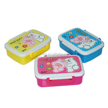 Food safe unique lunch box indonesia with cutlery set