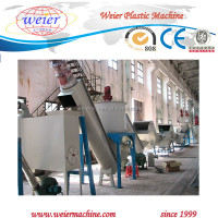 PE PP Plastic Film Recycling Pelletizing Line