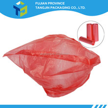 Tall Flat Type Kitchen Wastebasket Trash Roll Plastic Bags 6 Gallons Trash Bag 100 Count 0.5 mil (19.6''*23.6'')