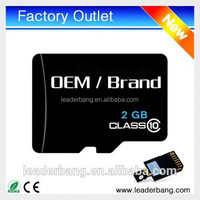 Wholesale price micro memory SD card 2gb