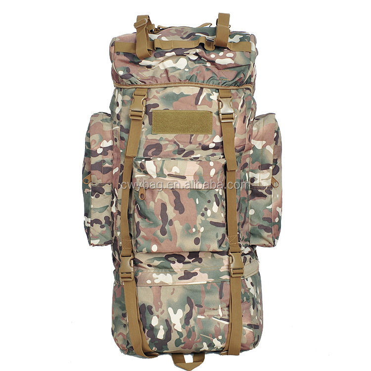 65L Mountain Military Tactical Assault Pack Backpack