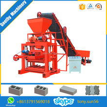 QTJ4-35B2 manual fly ash brick making machine in kolkata