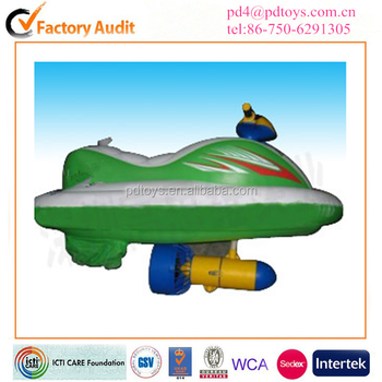 Factory directly sale high speed water scooter inflatable jet ski for adults