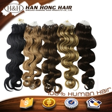 2015 Factory Price Direct Sale Cheap Micro Ring Hair Extensions For Blacks