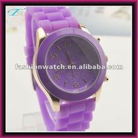 china TSR promotional Christmas gift geneva cheap silicone jelly watch