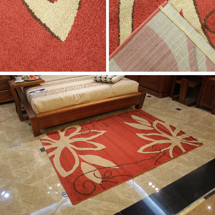 pp yarn floral pattern carpet designs