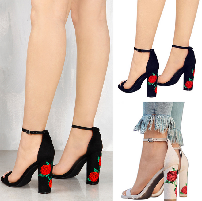 X85578A new arrival women high heels sandal photo for ladies sandals shoes