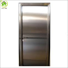 Stainless steel door emergency exit fire rated door/ fireproof door