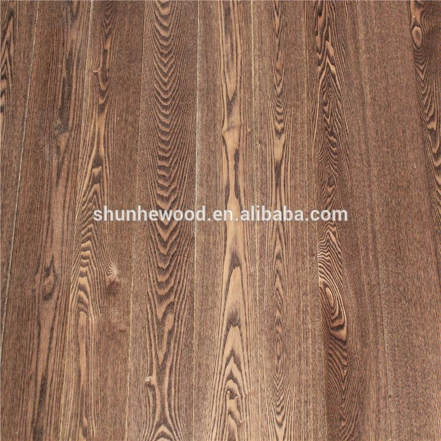 Direct Wholesale Cheap Price Flat UV Lacqur Finishing <strong>Ash</strong> Engineered Wood Flooring