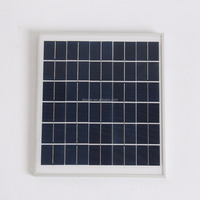 10W Tempered Glass PV Solar Panel / small solar panel/solar panel price india