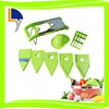 New design kitchen equipment products in alibaba supplier 6 in 1 vegetable slicer