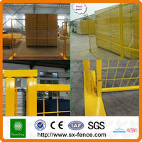 Plastic fence/ PVC painting wire mesh fence