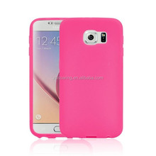 TPU faceplate case for Samsung Galaxy S6, front and back cover for Galaxy S6 G9200