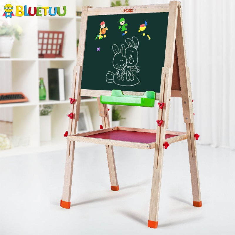 Deluxe wooden educational toys for kids painting learning