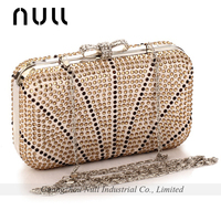 Colorful Rhinestone Luxurious Wedding Clucth Bags and Purses
