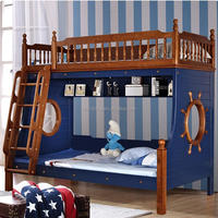 Hot Selling Wooden Kids Double Deck