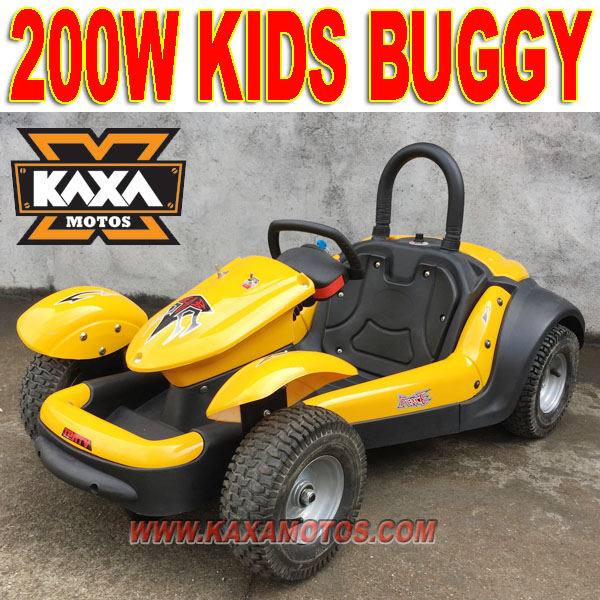 200W Electric 2 Seater Go Kart for Kids