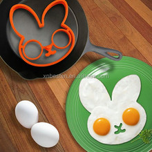 Silicone Rabbit Egg Fried Frying Mould Breakfast Pancake Mold Ring Form