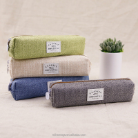 Wholesale Languo Simple Plush Pencil Case