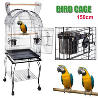 2016 HOT sale chinese large metal bird parrot cage