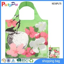 Hot Sale Promotional Apple And Flower Design Polyester Bag Fabric Polyester Bag Fabric