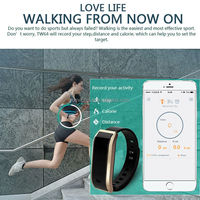 2015 new fashion products top android gps smart bracelet l12s with peodmeter keep fit