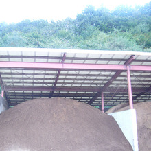 Steel structure design waterproof cattle poultry farm shed