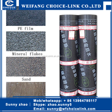 2/3/4/5mm SBS/APP bitumen basement waterproofing product