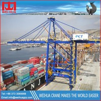 heav duty container gantry crane, marine crane with Stability feature