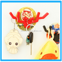 Colorful Animal Stick Wall Hangers Hook