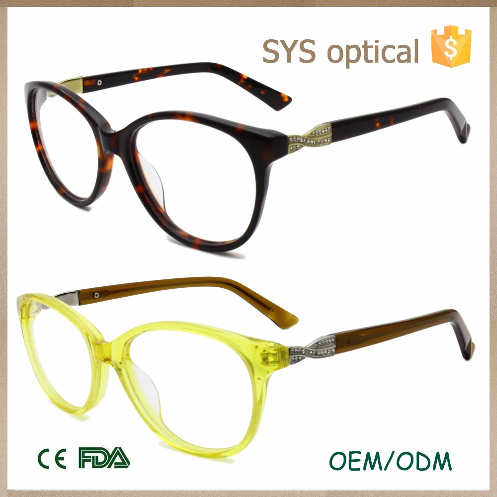 Glasses Frames Style Names : China Wholesale Brands Names Fashion Acetate Frame Glasses ...